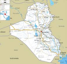 Map Of Syria Google Search Maps Pinterest by Download Map Of Iraq Rivers Major Tourist Attractions Maps
