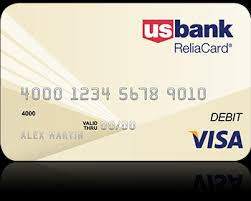reloadable prepaid debit cards usbank reliacard