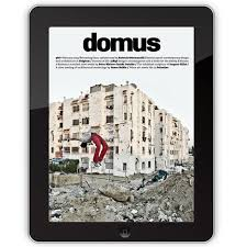 layout magazine app domus ipad app