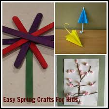 easy spring craft ideas for kids u2013 saving mamasita