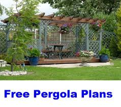 Free Pergola Plans And Designs by Home Furniture Plans Online Outdoor Furniture Part 3