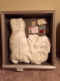 wedding dress cleaning and boxing wedding dress preservation