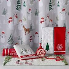 Snowman Shower Curtain Target Shower Curtains U0026 Accessories Bathroom Bed U0026 Bath Kohl U0027s