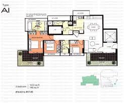 The Parc Condo Floor Plan by Parc Centennial Singapore Condo Directory