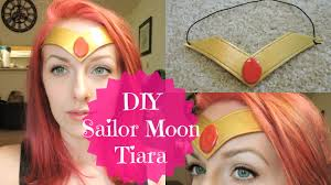 diy sailor moon tiara headband super cheap u0026 easy youtube