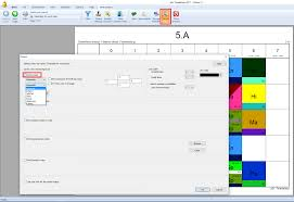 how to print in color and define colors in printouts asc timetables