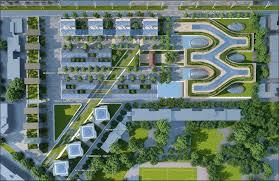 architectural site plan gallery of città della scienza masterplan predicts future of self