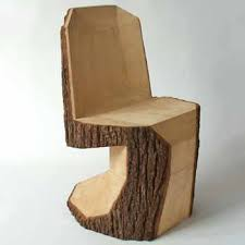 From Simple Tree Logs To Contemporary Dining Chairs Modern - Wood dining chair design