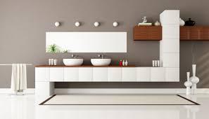 bathroom modern double bathroom vanities with white varnished