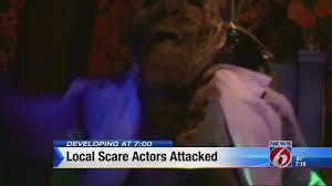 halloween horror nights ucf halloween horror nights actors quit after being attacked