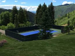 Backyard Tennis Courts Residential Gallery Snapsports News