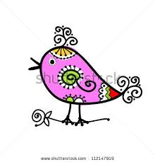 twitter bird sketch stock images royalty free images u0026 vectors