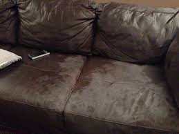 Cleaning Leather Chairs What Is This White Wax Like Coating On My Faux Leather Couch