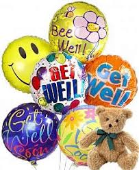 teddy in a balloon gift get well balloons teddy same day gift delivery balloon