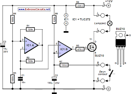 car interior light circuit diagram
