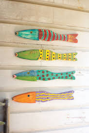 Fish Home Decor Best 25 Wooden Fish Ideas On Pinterest Fish Mobile Fish Art