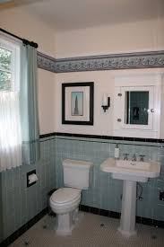 1940s bathroom design aqua and black deco cottage bathroom this is a bathroom in a