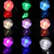 submersible mini led color changing spotlight aquarium tank fresh