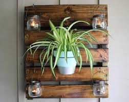 Hanging Indoor Planter by Indoor Wall Planter Etsy