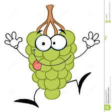 happy green color happy green grape character stock vector illustration of vector