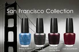 nail alert the opi san francisco collection is here savvy spice