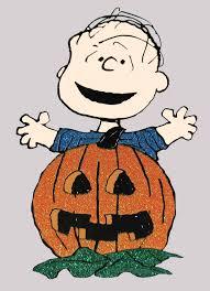 peanuts gang sparkling halloween die cut wall decor linus