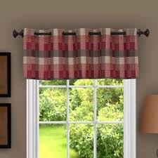 Bed Bath And Beyond Window Valances Buy Burgundy Window Valances From Bed Bath U0026 Beyond
