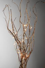 lighted willow branches curly willow led branches 20 10 branches