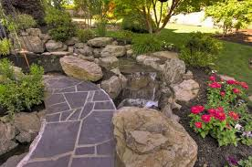Rock Garden With Water Feature Rock Garden Design Ideas To Create A And Organic Landscape