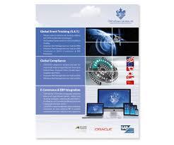 brochure design software brochure design for cdm software solutions inc by
