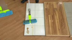 Dry Mop For Laminate Floor It Works Spray U0026 Clean Wet Dry Double Sided Flip Mop On Qvc Youtube