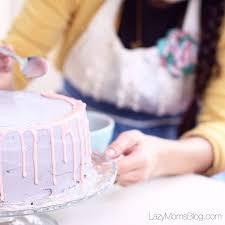 dripping ganache birthday cake lazy mom u0027s blog