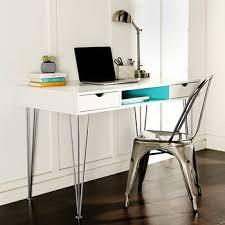 48 Computer Desk W Trends 48 Color Accent Computer Desk White Aqua Blue Bj S