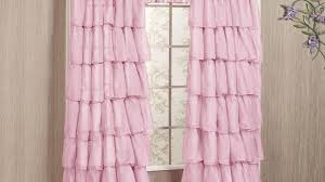 Ruffled Pink Curtains Curtains Sheer Pink Curtains Nourished Grommet Sheer Curtain