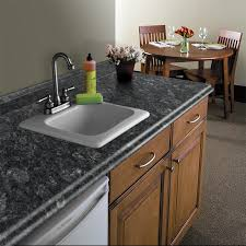 Kitchen Countertop Dimensions Shop Vt Dimensions Formica 10 Ft Midnight Stone Etchings Miter