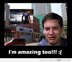 Meme Tobey Maguire - tobey maguire is amazing too tobey maguire crying under the