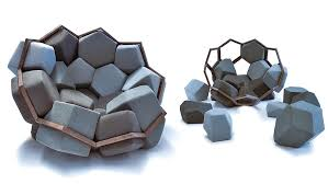 Really Cool Chairs The Quartz Armchair Can Seat You As Well As Your Many Guests