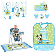 Mickey Mouse Chair by Mickey Mouse Boys First Birthday Party Supplies Birthday Wikii