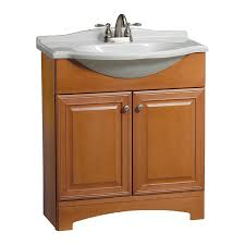 Euro Bathroom Vanity Shop Estate By Rsi Premier Euro Cinnamon Integrated Single Sink