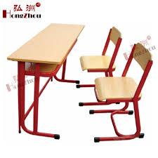 bureau deux personnes bureau de l école et une chaise pour deux personnes étudiant