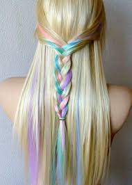 temporary hair dye hair chalking this is cool on blonde hair
