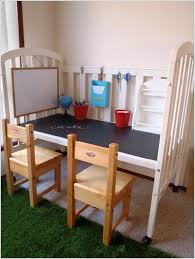 19 ways to repurpose baby cribs into diy upcycled furniture
