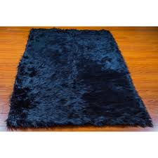 Fur Area Rug 5 X 8 New Premium Navy Faux Fur Area Rug Nursery Room Decor Home