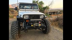 modified jeep wrangler yj jeep wrangler mods youtube