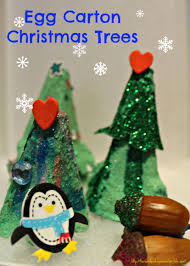 egg carton christmas trees there and back again a mother u0027s