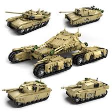 lego rolls royce armored car kazi military series the mammoth tank set combined by 4 famous