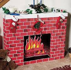 cardboard fireplace diy tutorial beesdiy