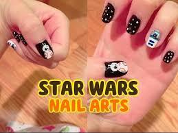 star wars bb 8 r2d2 nail art tutorial diy 星球大戰美甲 http