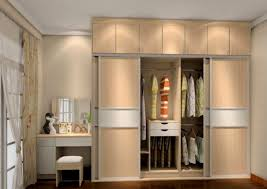 simple wardrobe with dressing table designs for bedroom indian 42