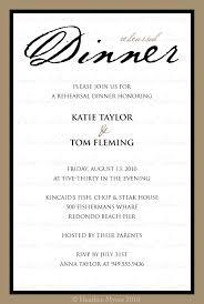 Rehearsal Dinner Invitation Wording Corporate Dinner Invitation Wording Thevictorianparlor Co